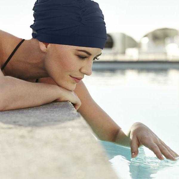 Swim cap  Blue