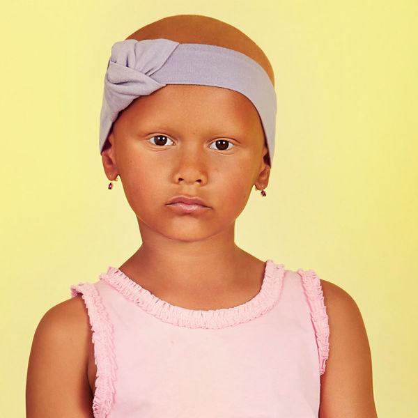 PETITE CHICK - Headband - Lavender Grey