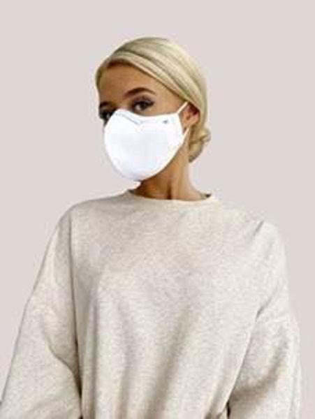 Face Mask - Medical - Hvid str. M