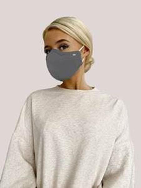 Face Mask -Medical - Dark Grey - str. M