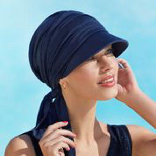 B.B. BRIANA SUN CAP - Dark Blue