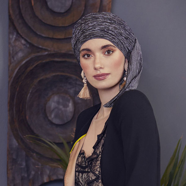 INES - Boho Scarf - Sophisticated Grey - EXPRESS